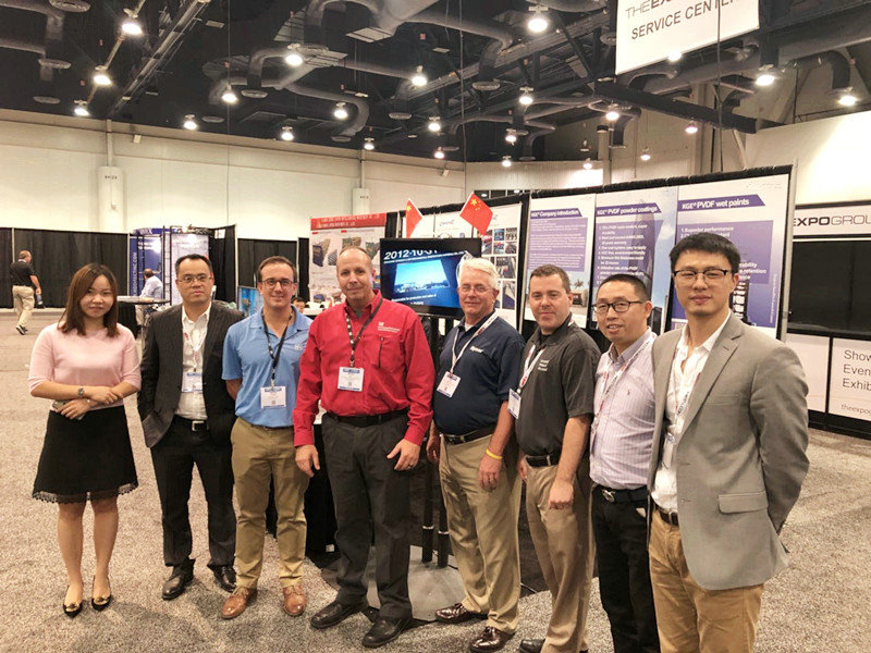 GUANG DONG EASOURCE NEW MATERIAL APPEARS IN  AMERICAN COATINGS EXHIBITION